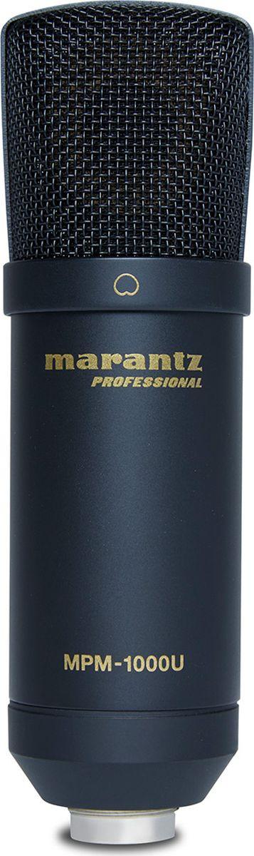 Студийный микрофон Marantz MPM-1000U, черный