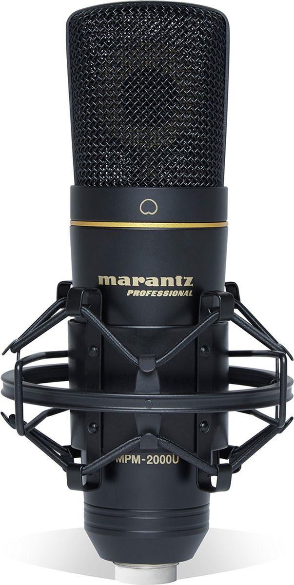 Студийный микрофон Marantz MPM-2000U, черный