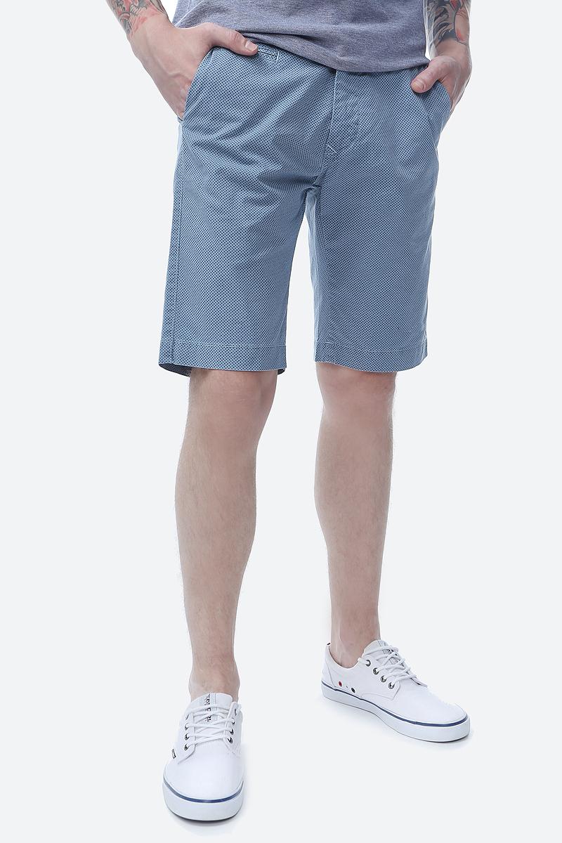 Шорты мужские Pierre Cardin, цвет: синий. 041.3465.2060.67. Размер 31 (46/48) шлепанцы мужские fila ultratouch slide цвет черный синий s19fflsp006 bm размер 46