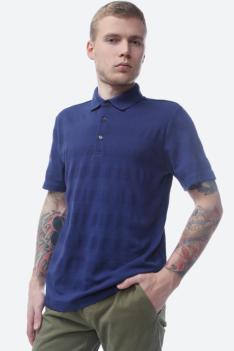 Поло мужское Pierre Cardin, цвет: синий. 046.52524.91249.3269. Размер M (48) лонгслив мужской quiksilver цвет синий eqyzt04988 bng0 размер m 48 50