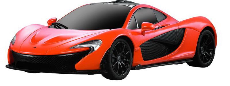 Машина радиоуправляемая Rastar McLaren P1, 75200O, оранжевый rastar 1 24 lamborghini 18 см 26300 оранжевый