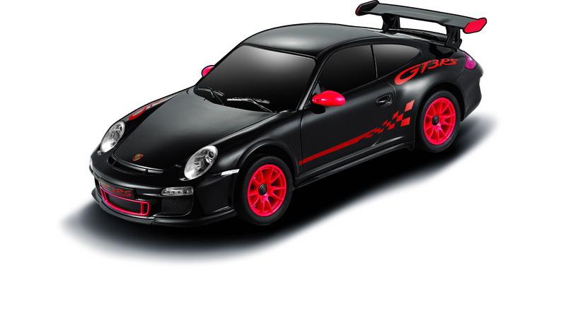 Машина радиоуправляемая Rastar Porsche GT3 RS, 39900B, черный, 18 см rastar 1 24 lamborghini 18 см 26300 оранжевый