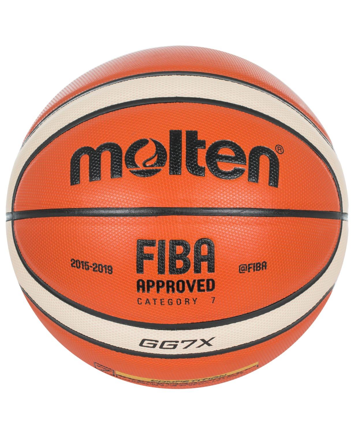 Мяч баскетбольный Molten BGG7X №7 FIBA Appr накладка на бампер для mazda cx 5 2017