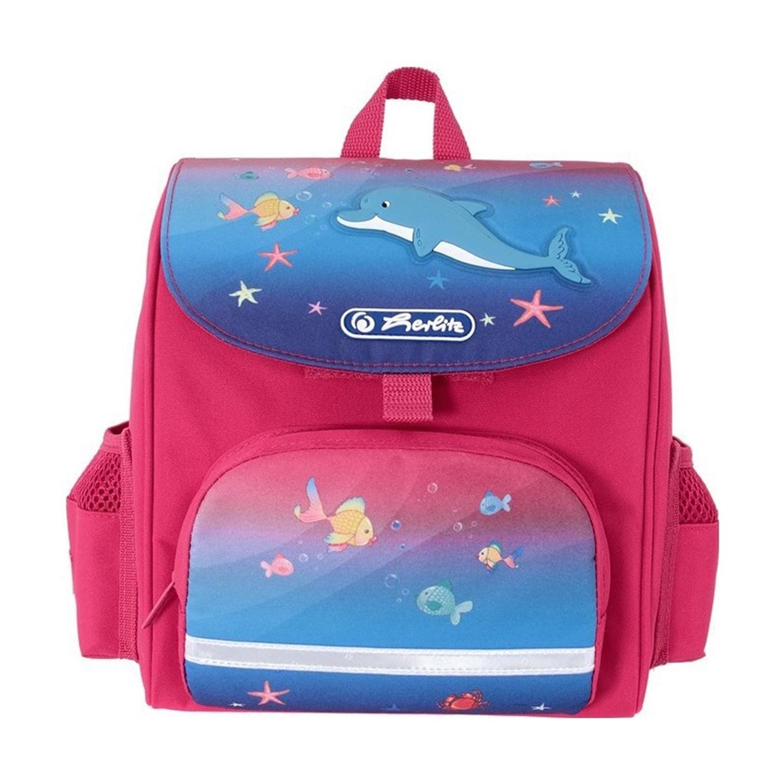 Herlitz Ранец дошкольный Mini Softbag Little Dolphin все цены