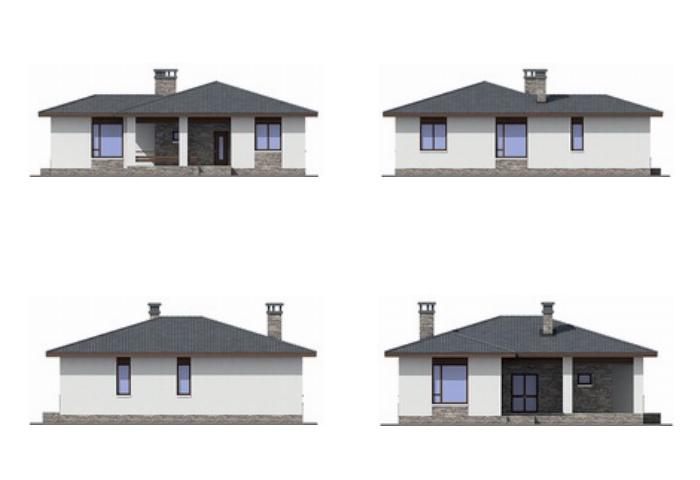 Проект дома Plans-55-28 (109 кв.м, газобетон) Plans.ru