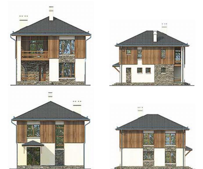 Проект дома Plans-57-80 (119 кв.м, газобетон) Plans.ru