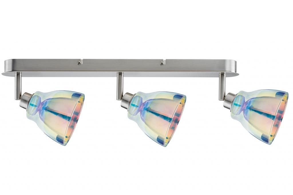 Потолочный светильник SL Wolbi LED Balken 3x3,5W GZ10 Eis-g/Di спот paulmann wolbi 60299