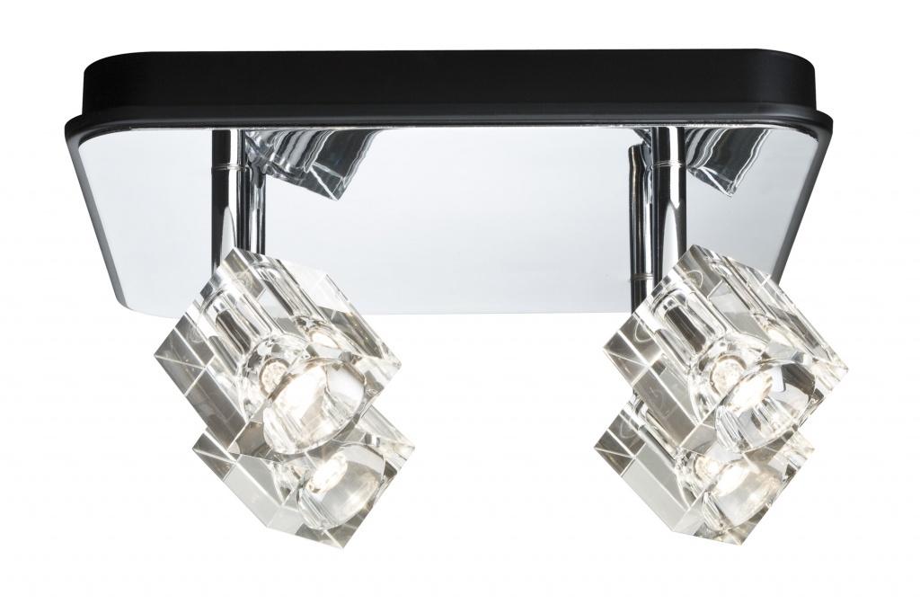 цена Потолочный светильник Ice Cube 4x3W онлайн в 2017 году