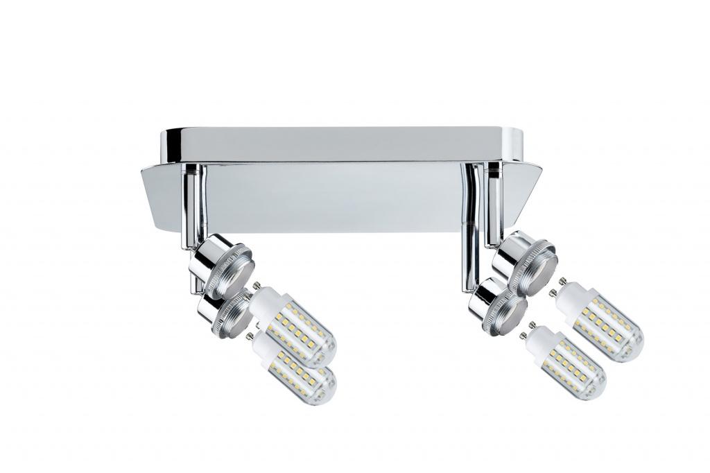 Потолочный светильник Deco LED Rondell 4x3W GZ10, хром