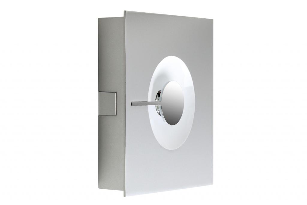 Настенно-потолочный светильник Alpha 11W LED warmweiss, хром матовый