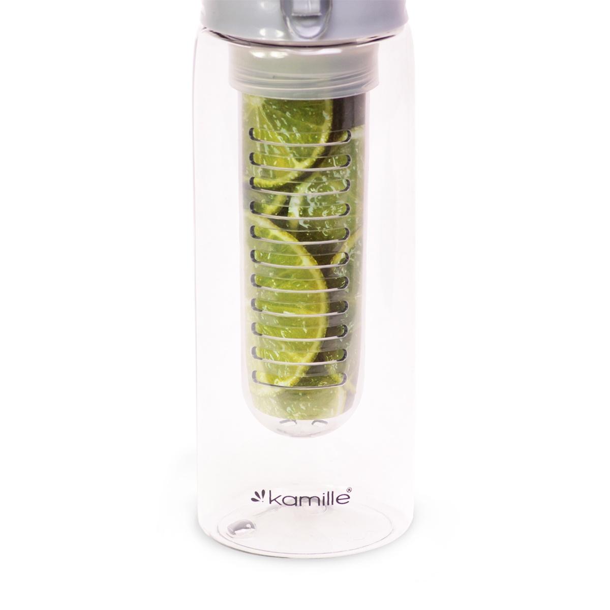 Фото - Бутылка спортивная для воды KAMILLE пластик-тритан спортивная бутылка tomimitsu 1066 fga1066 1000