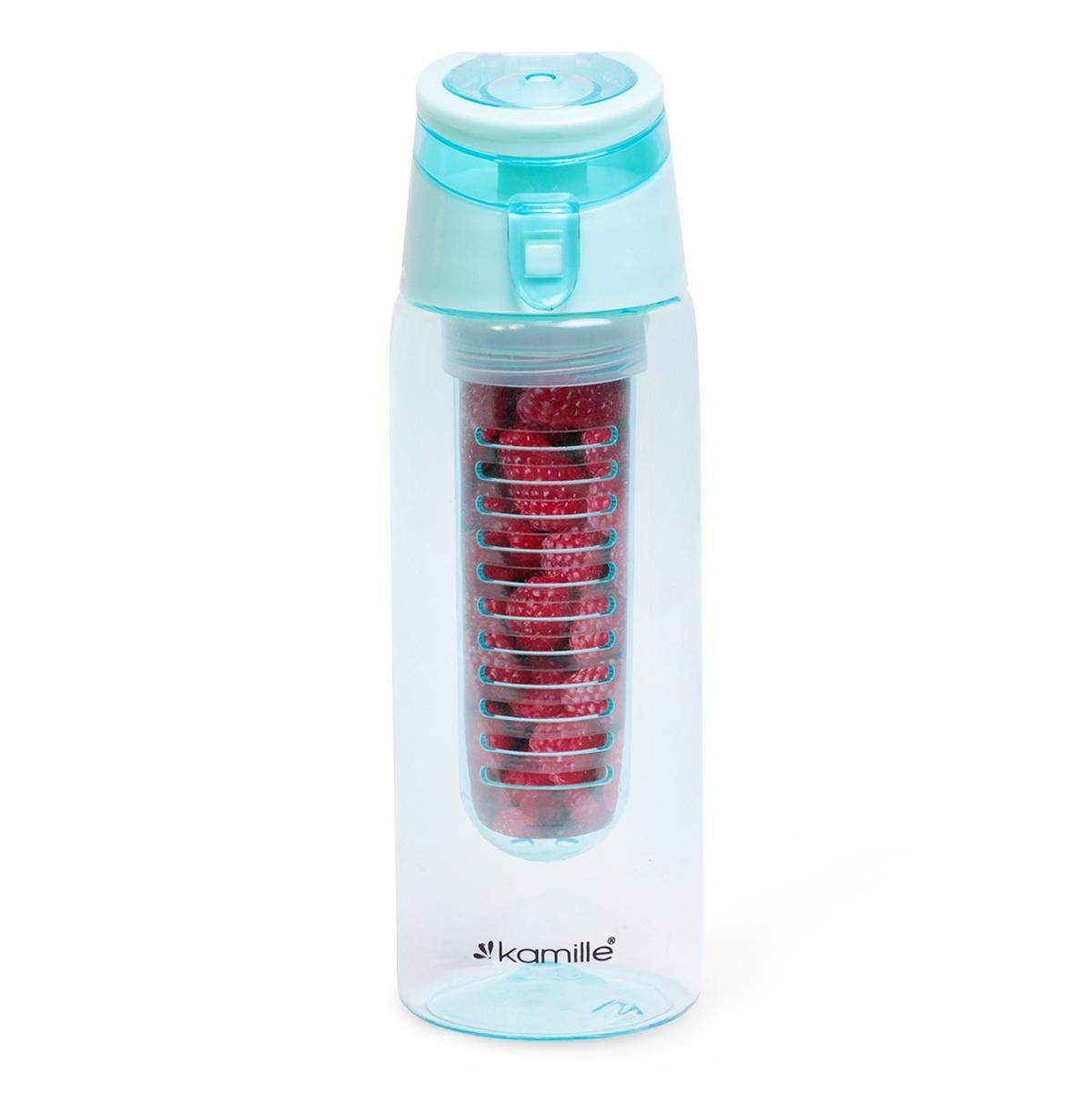 Бутылка спортивная для воды KAMILLE пластик-тритан недорго, оригинальная цена