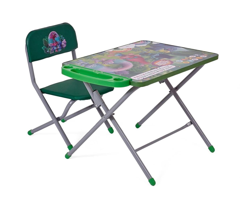 Комплект детской мебели Polini kids 103 Тролли (зеленый)