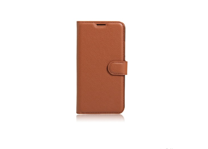 Фирменный чехол-книжка из качественной импортной кожи с мульти-подставкой застёжкой и визитницей для HTC Bolt/HTC Desire 10/ Desire 10 Lifestylle коричневый MyPads