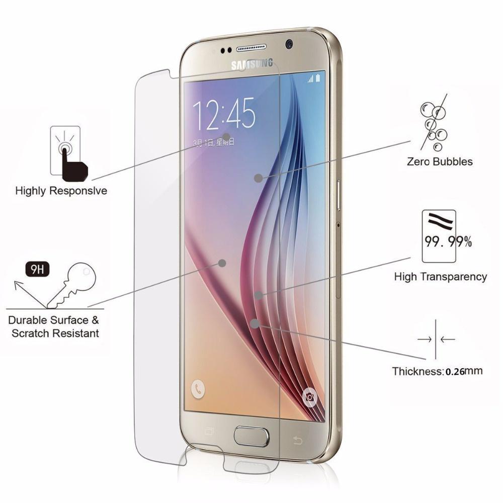 Закаленное стекло для Samsung Galaxy чехол для samsung g360h g361h galaxy core prime galaxy core prime ve protective cover красный