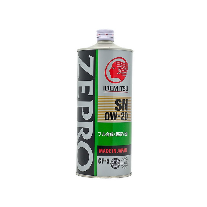 "Масло моторное синтетическое IDEMITSU ""Zepro Eco Medalist 0W-20"",SN/GF-5 1л (3583001)"