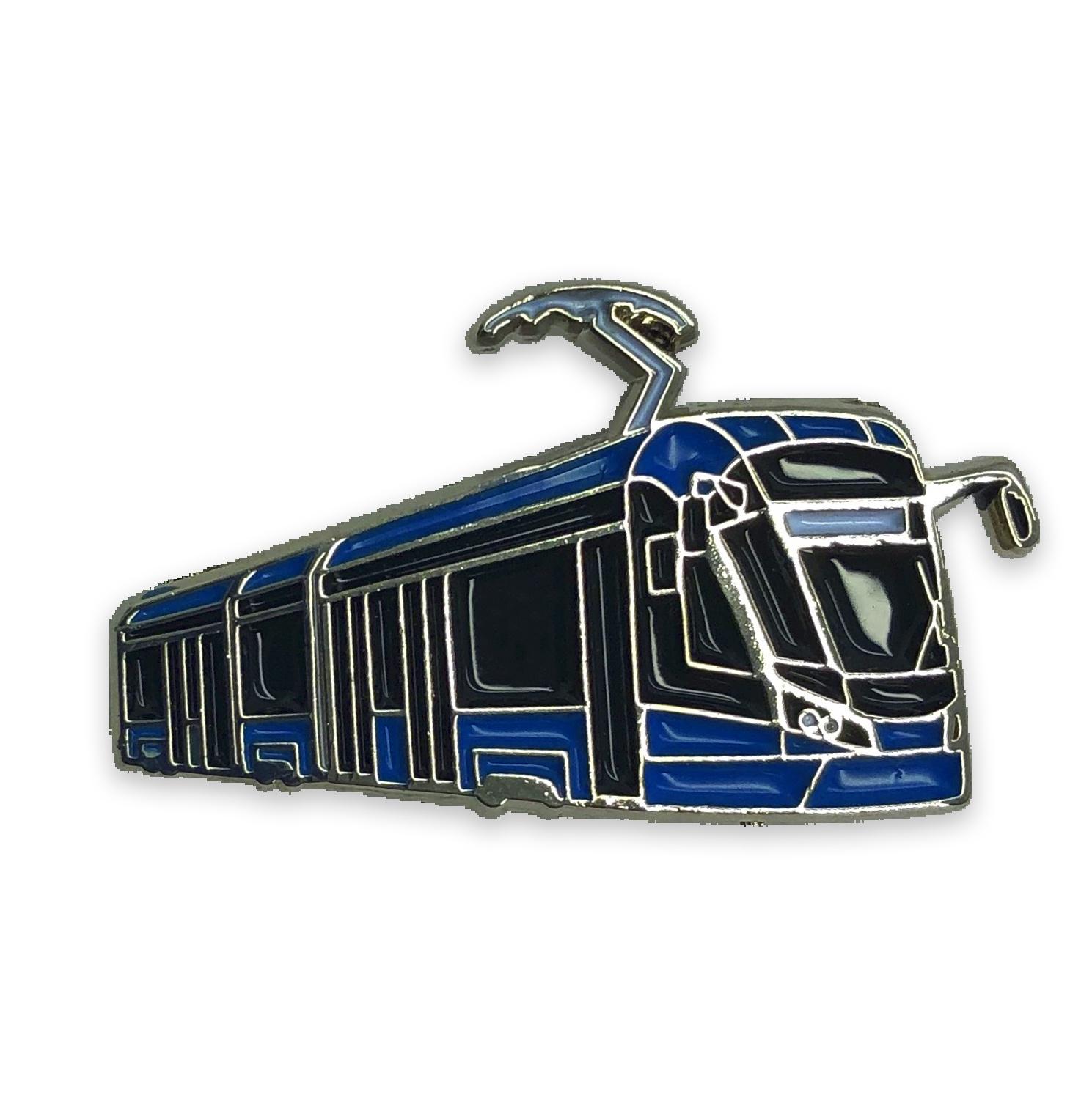 Moscow Metro Значок Трамвай Витязь-М значок