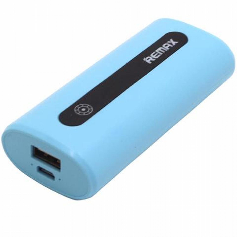 Аккумулятор внешний Remax RPL-2, E5 Series, 5000mAh, голубой цена 2017