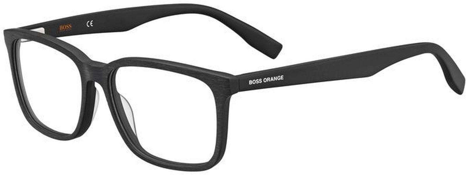 цены на Оправа для очков мужская Boss Orange 267, HUO-1575420035416, черный  в интернет-магазинах