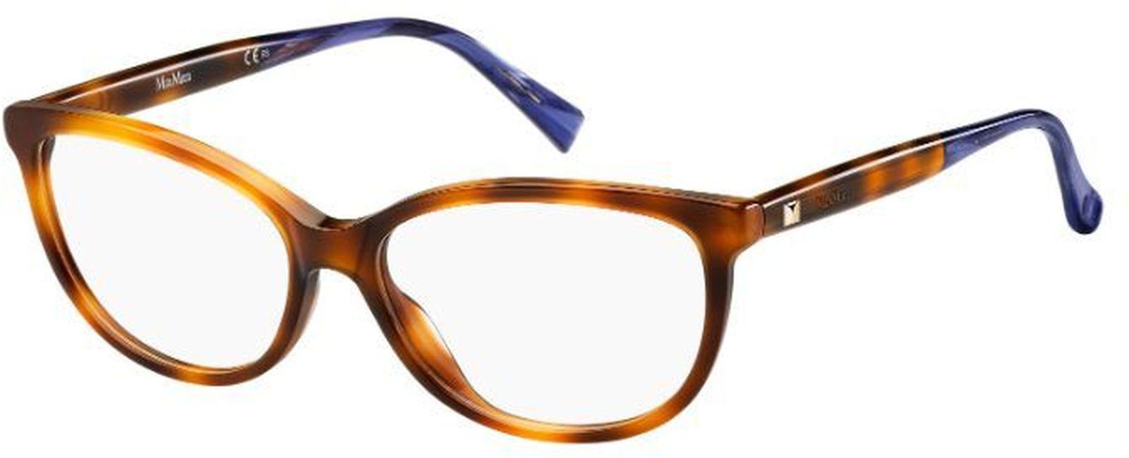 Оправа для очков женская Maxmara 1266, MAX-14762105L5415, коричневый оправа max