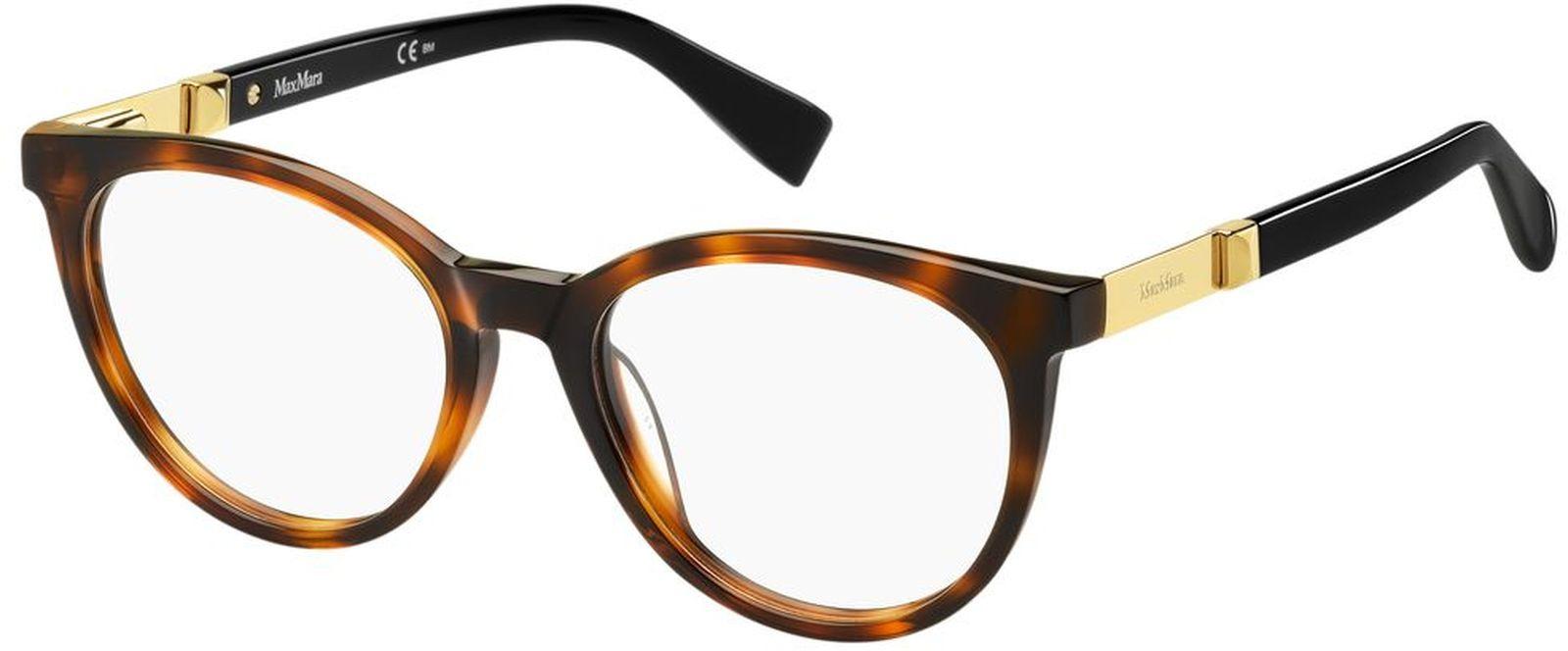 Оправа для очков женская Maxmara 1307, MAX-1001605815118, коричневый оправа max