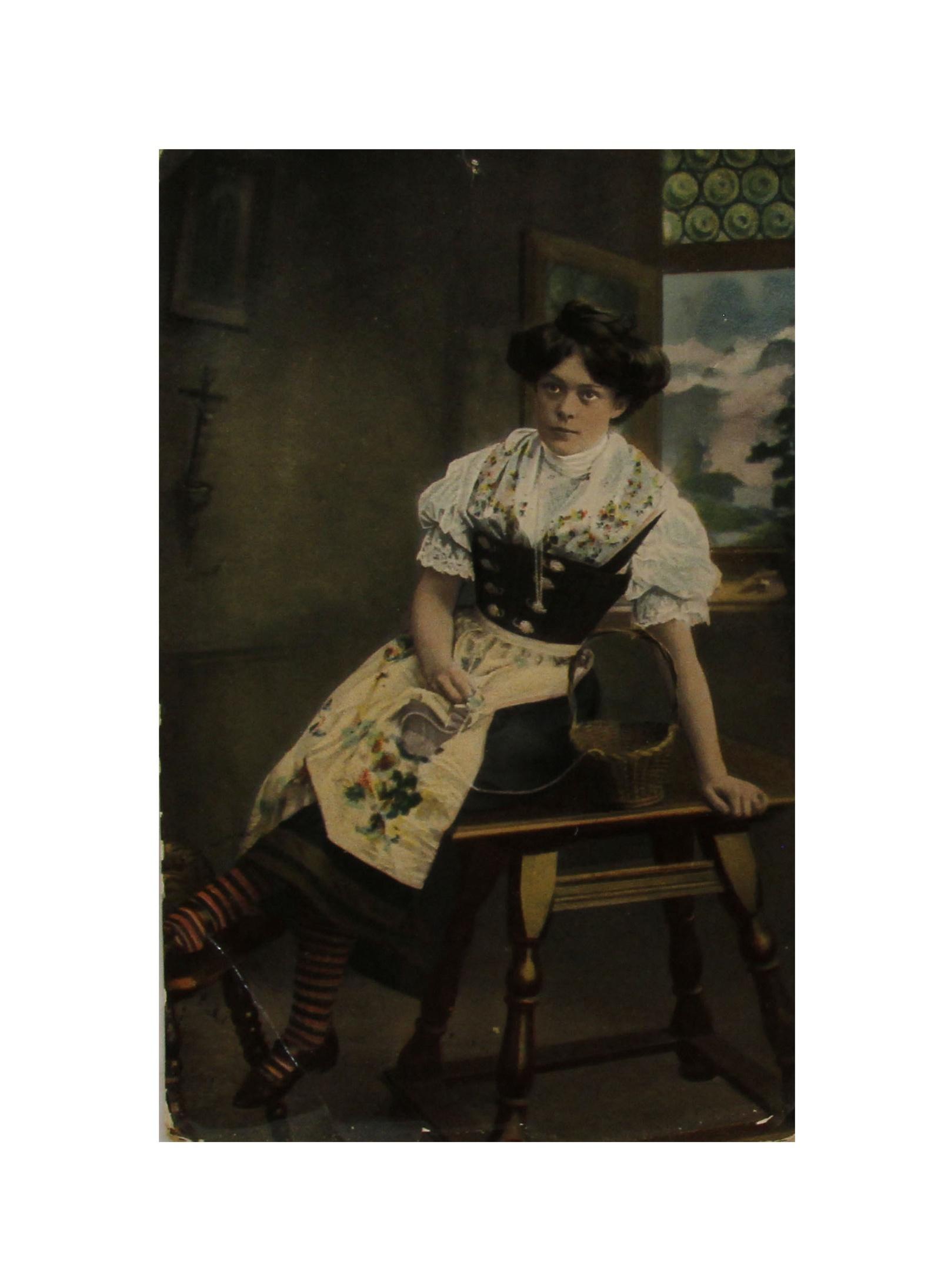 Коллекционная почтовая открытка. Германия, начало XX века. цены онлайн