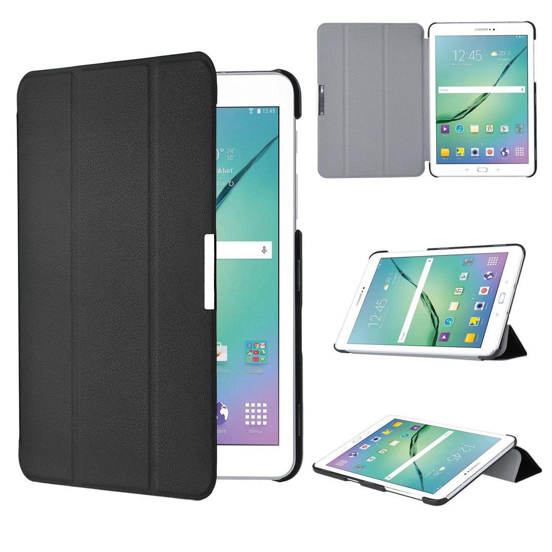 Рождество для Samsung Galaxy Tab S2 8-дюймовый корпус - тонкий смарт-чехол для Samsung Galaxy Tab S2 8-дюймовый планшет (черный)
