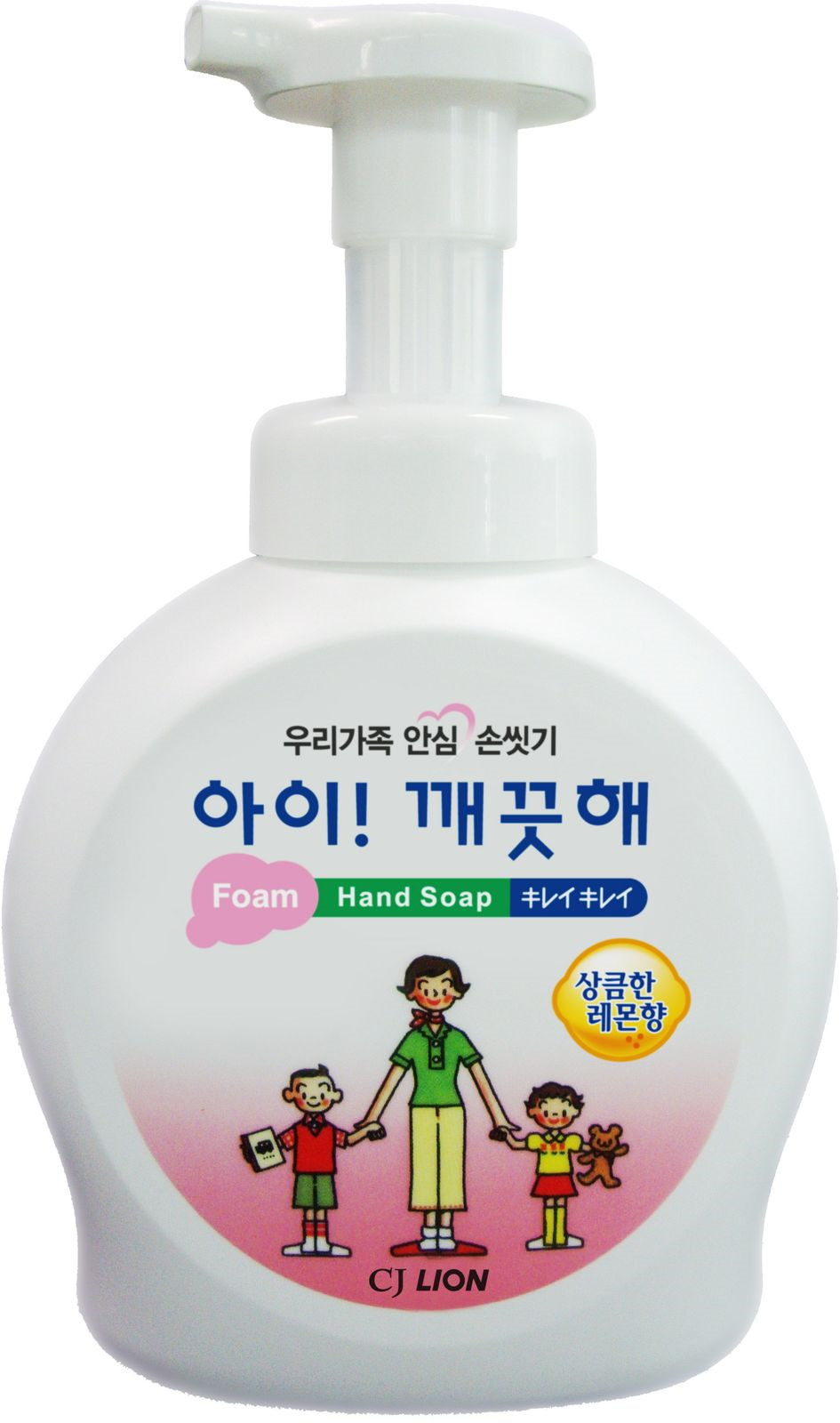 Жидкое мыло CJ Lion Ai-Kekute, с ароматом лимона, 490 мл