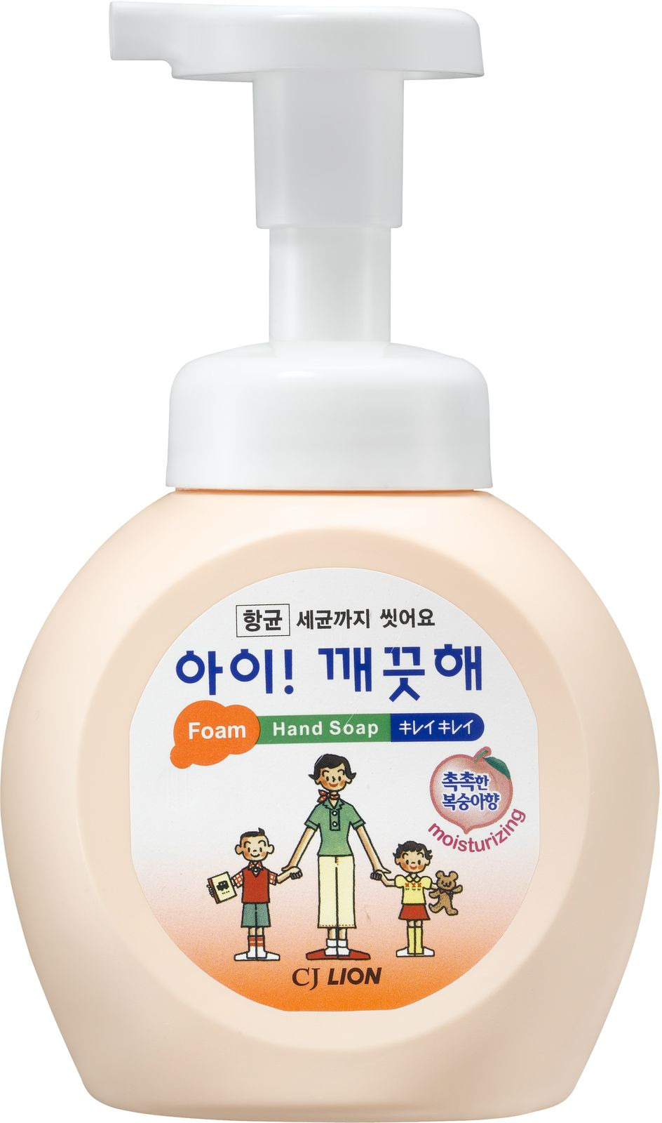 Жидкое мыло CJ Lion Ai-Kekute, с ароматом персика, 250 мл