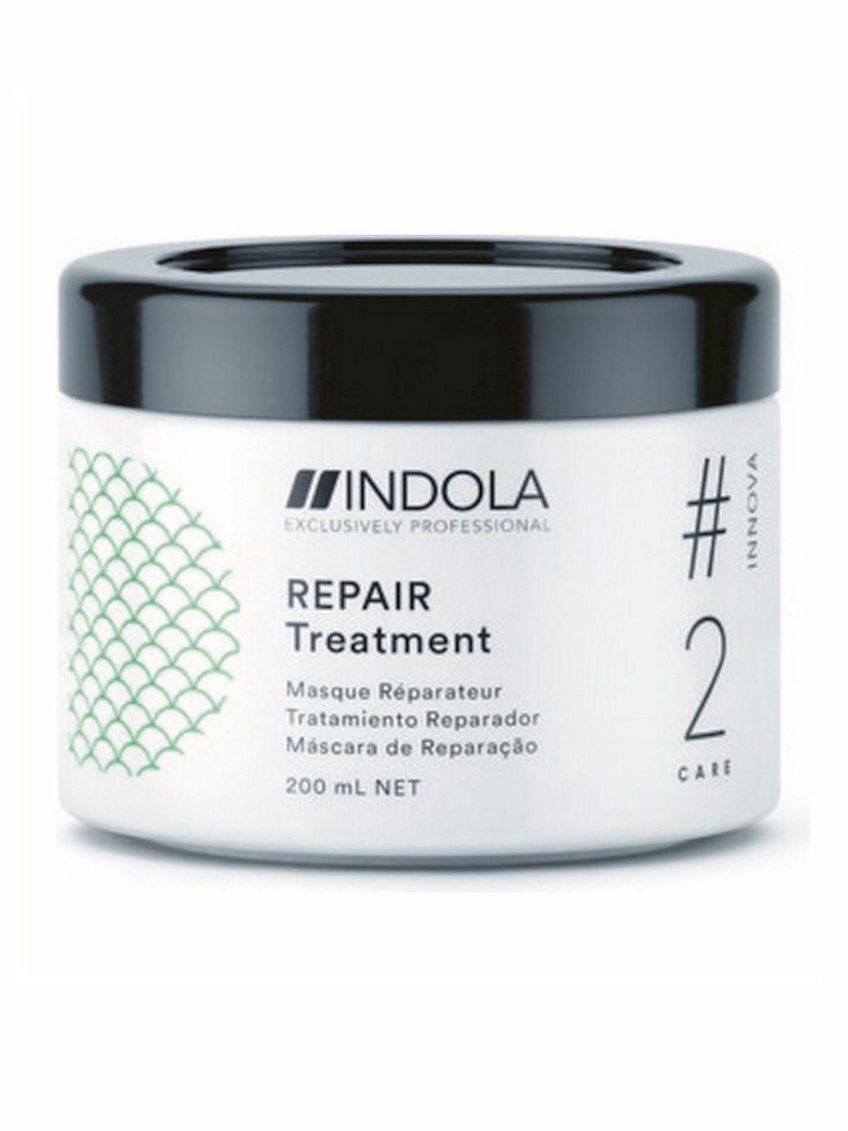 Восстанавливающая маска для волос Indola Repair Treatment, 200 мл indola чарующее сияние маска восстанавливающая смываемая 200 мл