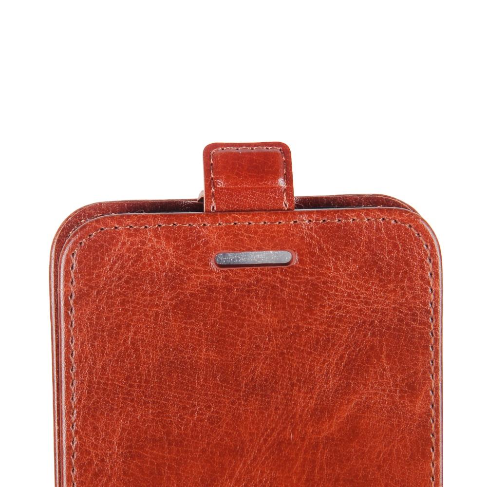 Для Lg Q6 Plus Pu Кожаный чехол для карт памяти Защитная крышка с магнитным закрытием (коричневый) цена и фото