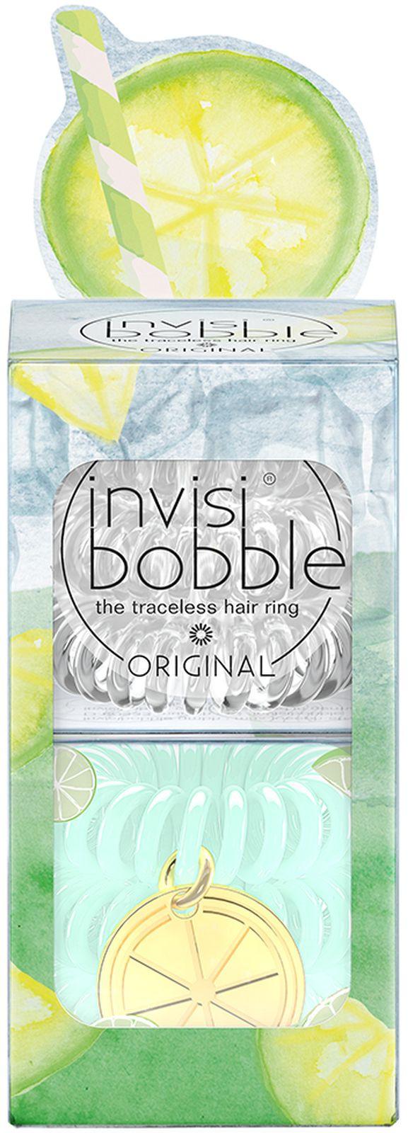 Резинка для волос Invisibobble invisibobble набор резинок для волос original happy hour main squeeze набор резинок для волос original happy hour main squeeze