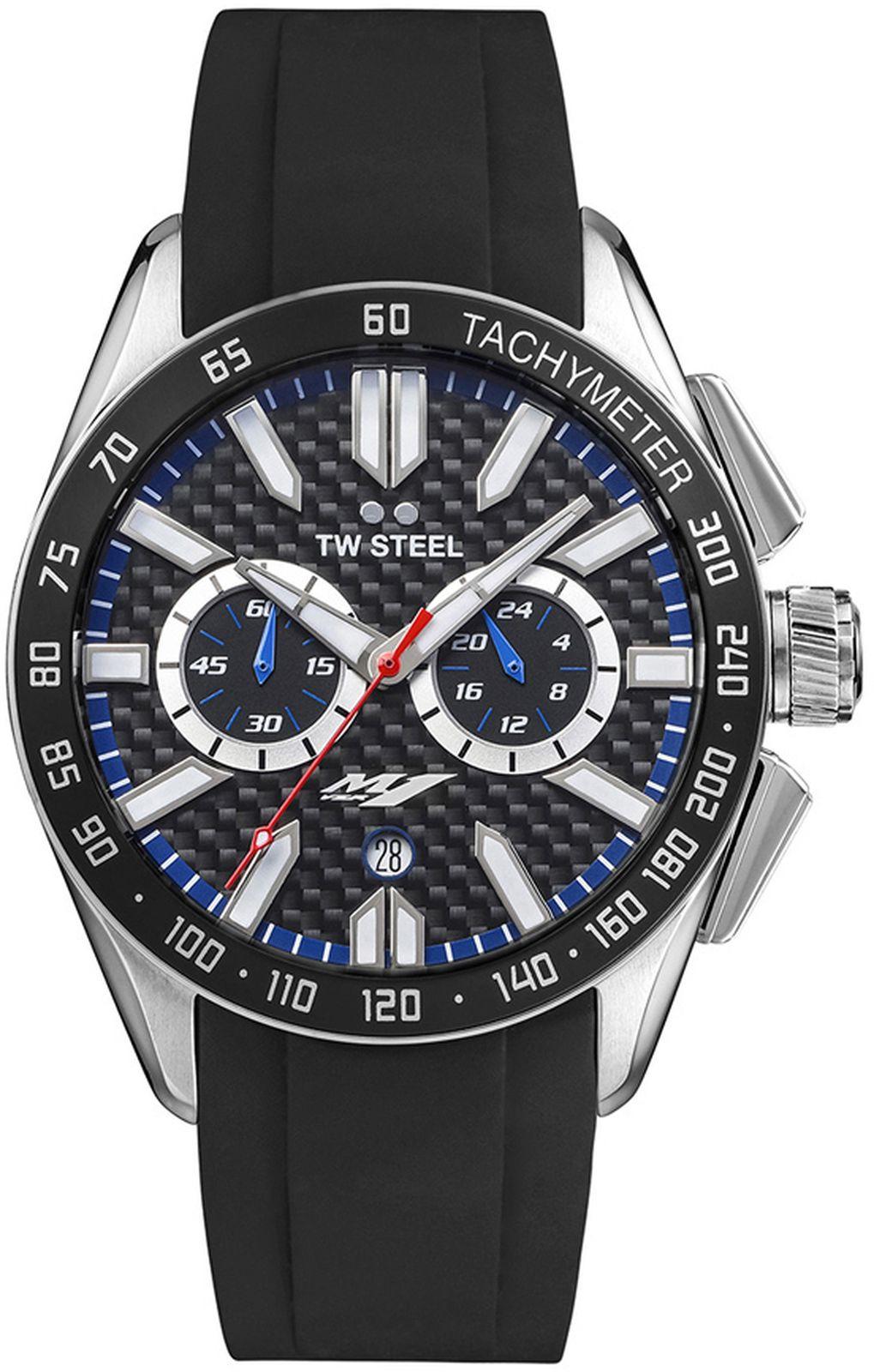 Наручные часы TW Steel мужские, черный