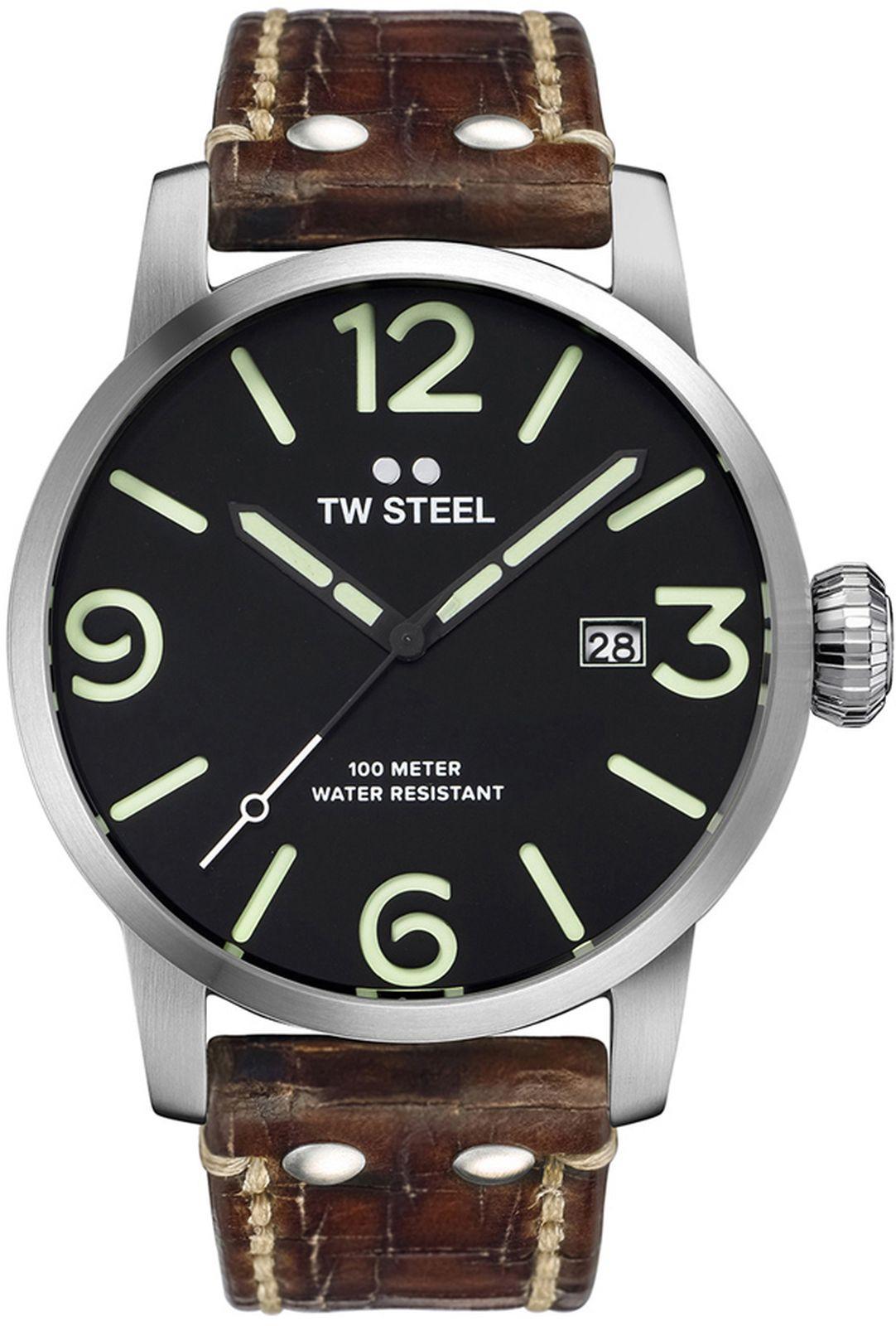 Наручные часы TW Steel мужские, коричневый