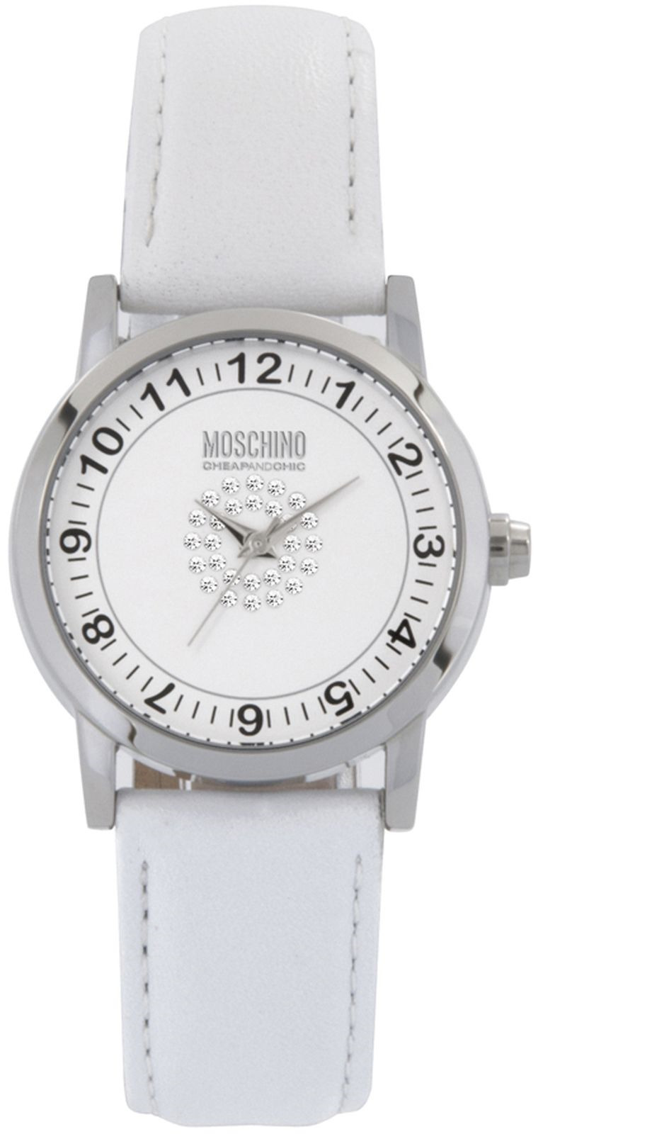 Наручные часы Moschino женские, белый все цены