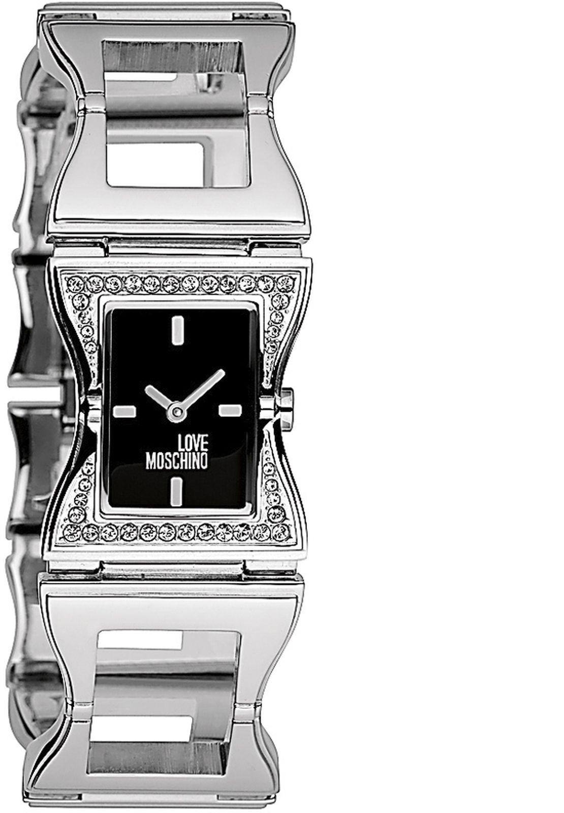 Наручные часы Moschino женские, серебристый все цены