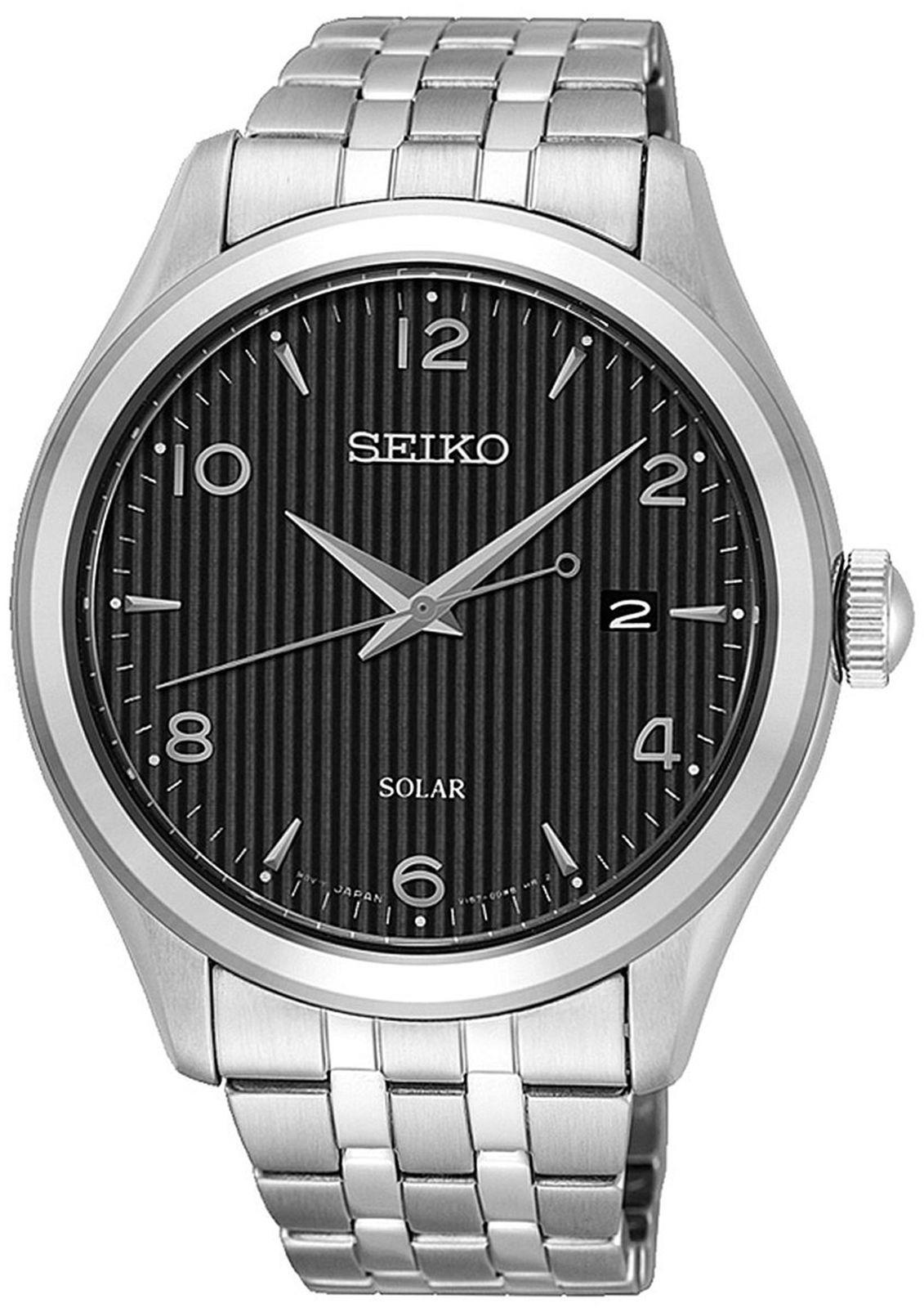 цена Наручные часы Seiko мужские, серебристый онлайн в 2017 году