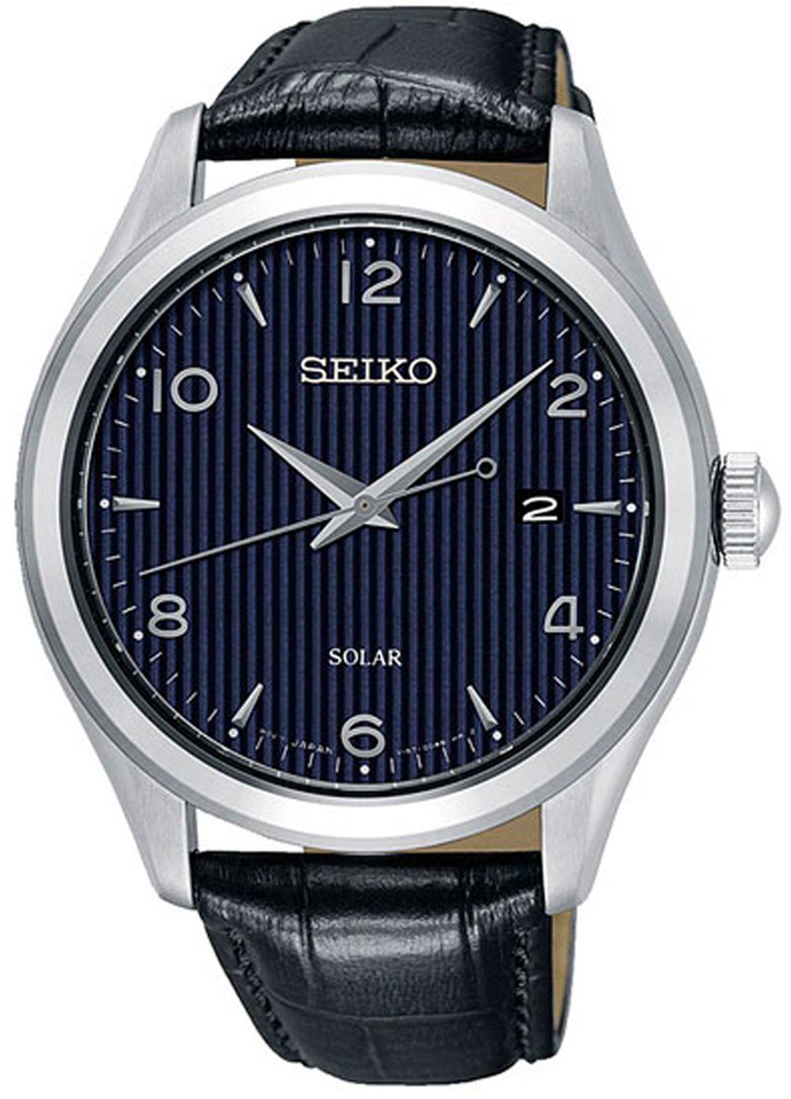 цена Наручные часы Seiko мужские, черный онлайн в 2017 году