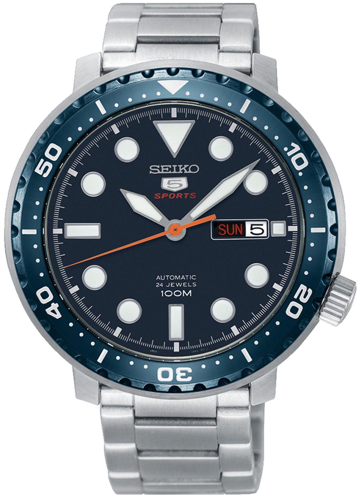 купить Наручные часы Seiko мужские, серебристый по цене 24450 рублей