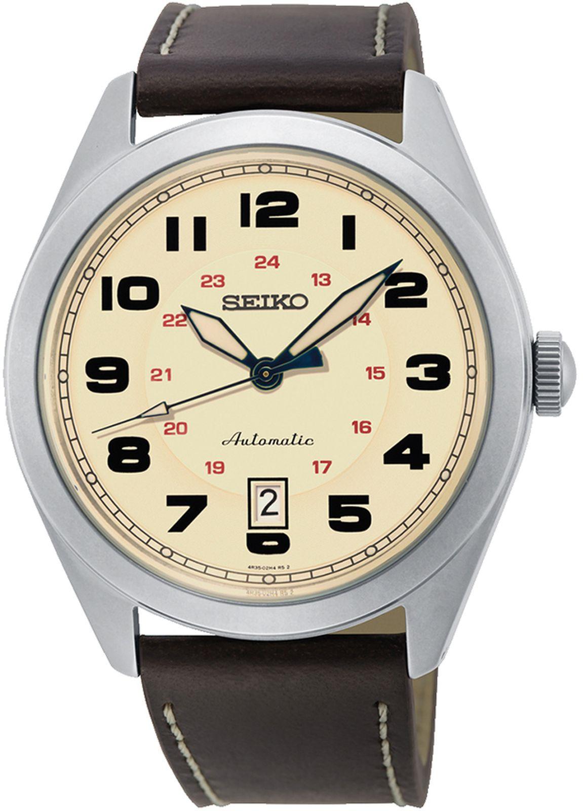 Наручные часы Seiko мужские, коричневый наручные часы мужские french connection цвет коричневый fc1278t