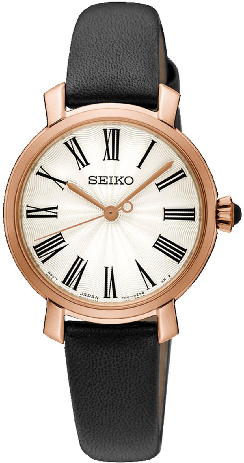 цена на Наручные часы Seiko женские, черный