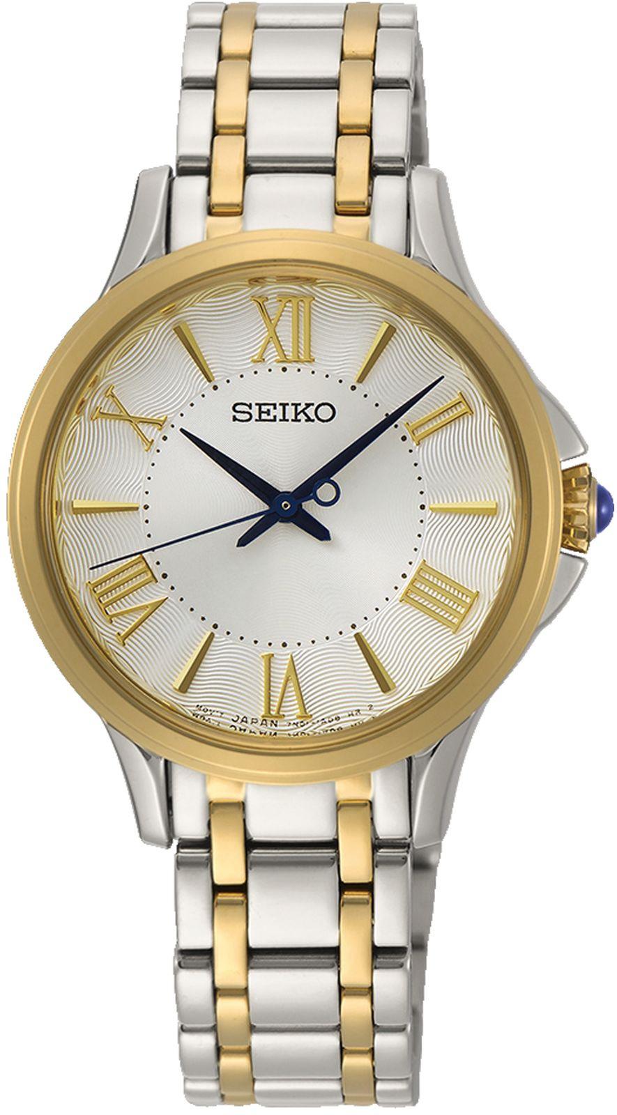 цена на Наручные часы Seiko женские, серебристый