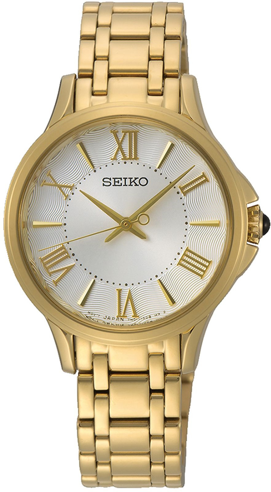 цена на Наручные часы Seiko женские, золотой