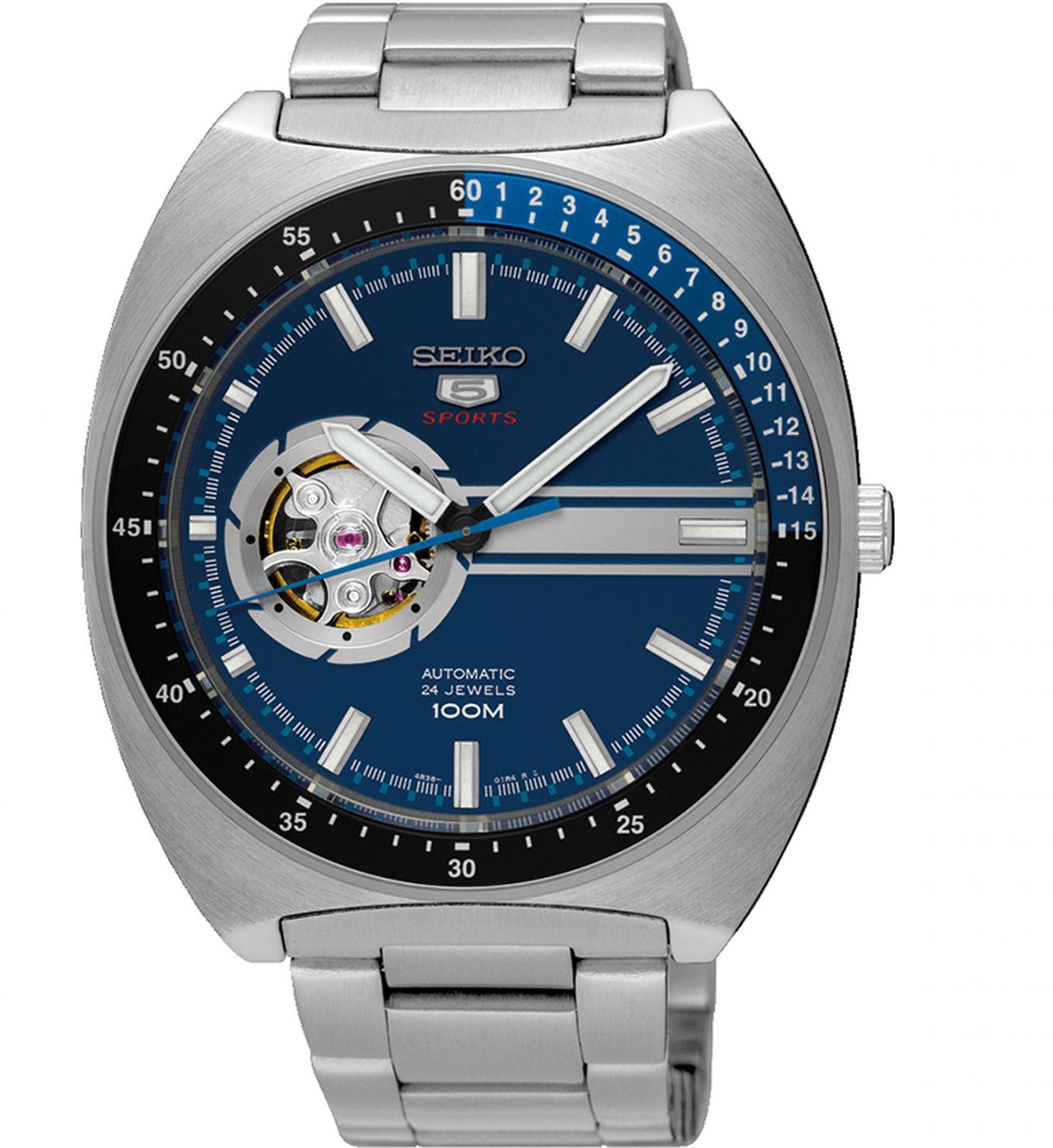купить Наручные часы Seiko мужские, серебристый по цене 23900 рублей