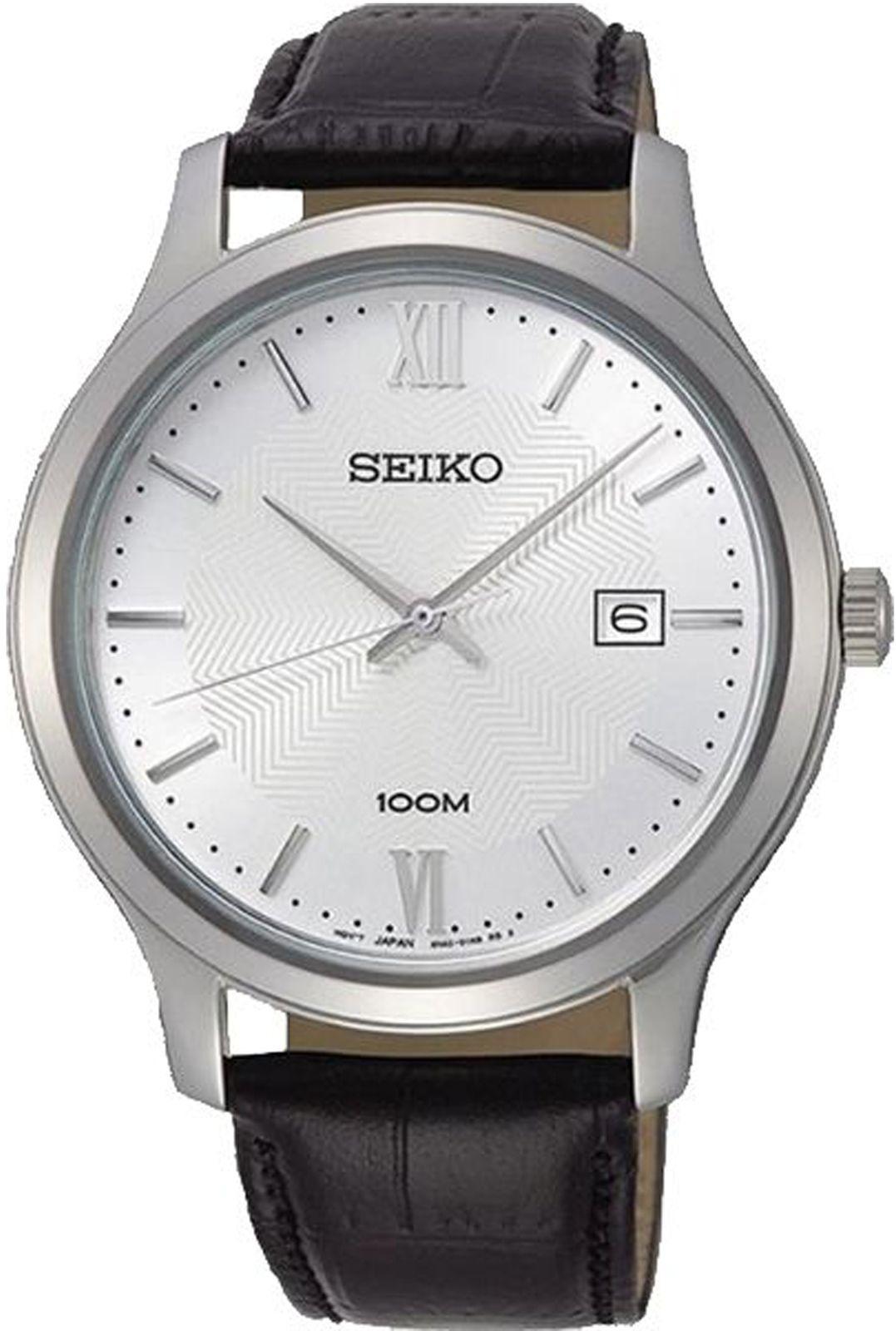 цена Наручные часы Seiko мужские, стальной, золотой онлайн в 2017 году