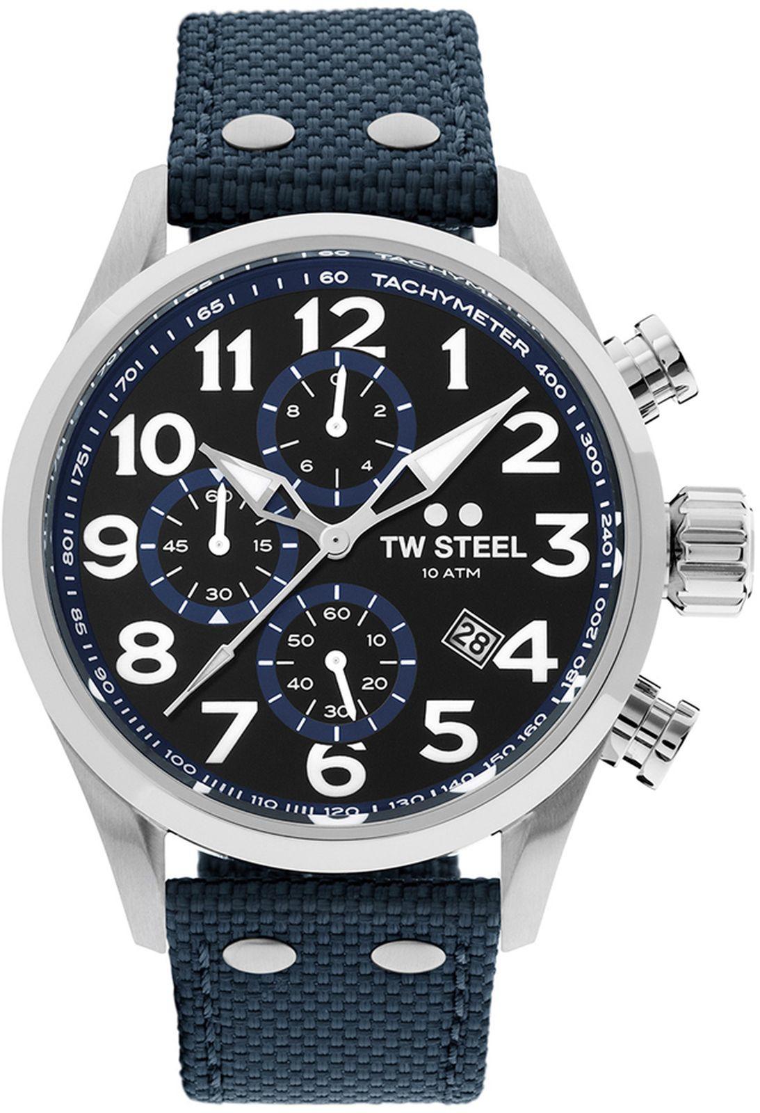 Наручные часы TW Steel мужские, темно-синий