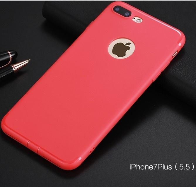 Телефон Морозный чехол для IPhone 6 6Plus 7 7 Plus Scrub Силиконовый резиновый корпус мобильного телефона Полные защитные чехлы на заднюю панель Shell цена
