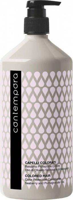Фото - Кондиционер для волос Barex Italiana Contempora, для придания объема, с маслом облепихи и огуречным маслом, 1000 мл легкий кондиционер для придания волосам шелковистого эффекта structure conditionneur douceur