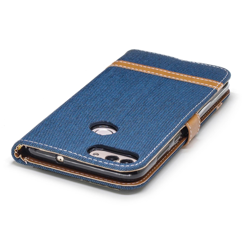 Защитный чехол-подставка для Huawei blue stripes дизайн pu кожа флип обложка кошелек для карты памяти чехол для huawei honor 4c