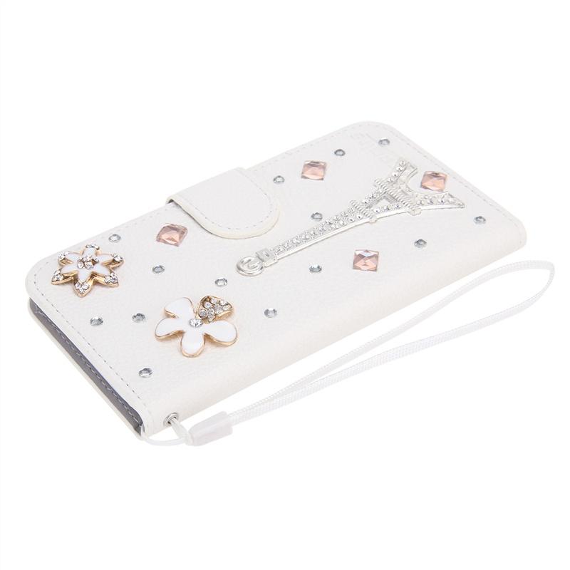 Многофункциональный защитный чехол с магнитным замком для Samsung Galaxy Core 2 G355H Duos, G3556D (стразы) все цены